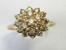 Diamond 9 Carat Vintage Fine Rings (Unknown Period)