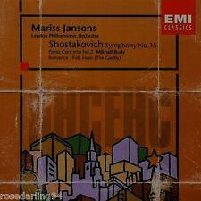 Shostakovich: Symphony No. 15; Piano Concerto No. 2; Etc. (CD, Sep-1998, EMI ...