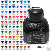 Diamine Bottled Ink (80ml) For Fountain Pens - All Colours Available