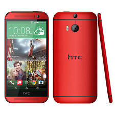 HTC ONE M8 4G LTE - 32GB 2G RAM - Red (Unlocked) Android 5-Inch Mobile Phone
