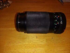 Vivitar 70-210mm/f4.5-5.6 Macro 1:4x Lens for Olympus Preowned