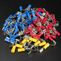 Flachsteckhülsen mit Abzweig Isoliert Kabelschuhe für Flachstecker 0.5mm-6mm²