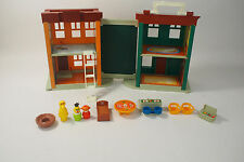 VINTAGE FISHER-PRICE LITTLE PEOPLE SESAME STREET APARTMENT HOUSE #938
