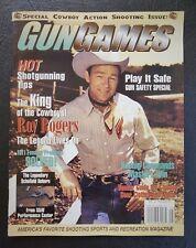 Gun Games Magazine 1998 Cowboy Shooting Action Roy Rogers