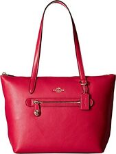 COACH Women's Pebbled Taylor Tote PINK CERIES  NEW WITH TAG