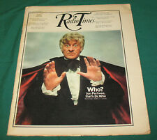Mega-rare: Radio Times for Doctor Who - Spearhead from Space ep. 1. Pertwee!