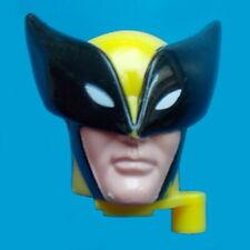 "1996 ROCKET DISPENSER ACTION MAN 8"" marvel hasbro figure -- WOLVERINE HEAD es"