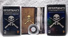 Resistance Retribution Collector's Edition (Sony PSP) UK Pal, w/ Art Cards! FP