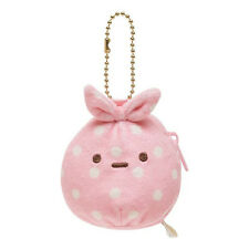 San-X Sumikko Gurashi Wrapped Cloth Coin Purse Key Chain CK55801