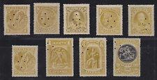 Crete Vlastos 1-9 MLH. 1900 Pictorials SPECIMEN set, VF