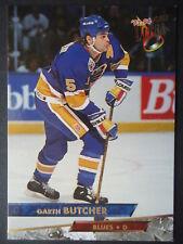 NHL 27 Garth Butcher St. Louis Blues Fleer Ultra 1993/94