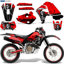 Honda XR650 Graphic Decal Kit Dirt Bike Sticker Wrap XR650R 2000-2010 REAP RED