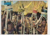 CPM AFRIQUE AFRICA COTE D IVOIRE BOUNDIALI Danseuses Sénoufo ca1970