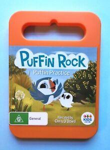 Puffin Rock - Puffin Practice 🎬 DVD Region 4 PAL 🎬