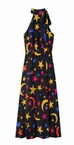 RIXO London Halter Neck Midi Dress