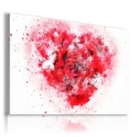 PAINTING DRAWING FLOWERS RED ROSES PRINT Canvas Wall Art R110 MATAGA