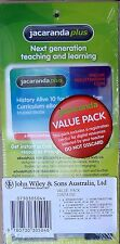 Jacaranda Plus VALUE PACK Registration Code HISTORY HUMANITIES & GEOGRAPHY ALIVE