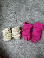 Ladies Gold And Pink Dance Leg Warmers