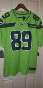 Nike Seattle Seahawks #89 Doug Baldwin Color Rush Limited Jersey Men's XXL