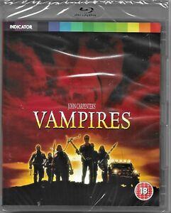 John Carpenter's Vampires Blu Ray All Regions Includes Registered Post