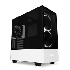NZXT H510 Elite Mid Tower Gaming Case - White USB 3.0