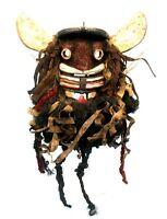 Arte Africano - Antico & Autentica Maschera Di Portabambino Abbiamo Guéré -