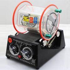 220V 45W Tumbler Rotary Tumbler Jewelry Polisher Finisher Machine+Polishing Bead