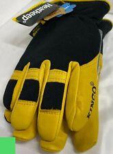 Winter Gloves Kincopro 101hk L Mens Lined Deerskin Comfortable Amp Durable