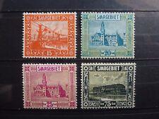 Germany, Saar, 1923, 98-101, *MH, CV 50 EUR