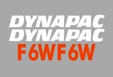 Sticker, aufkleber, decal - DYNAPAC F6W