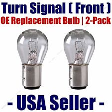 Front Turn Signal Light Bulb 2pk - Fits Listed Mercedes-Benz Vehicles - 1034