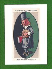 PLYMOUTH ARGYLE FC  PAFC  New Postcard   The Pilgrims    Home Park