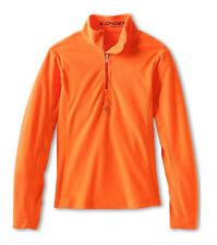 Spyder Kids Girls' Chloe Velour Fleece T-Neck Shirt Size XL (18) (Big Kids) NWT