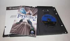 TimeSplitters 2 (Nintendo GameCube, 2002) Complete CIB Time Splitters Very Good
