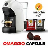 MACCHINA CAFFE' LAVAZZA A MODO MIO TINY CON CAPSULE COMPATIBILI MACCHE' OMAGGIO
