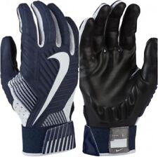 2e3cabe4d Nike Masculino D ‑ Tack 5 acolchoada lineman futebol luvas GF0385-419 Navy  Branco Grande