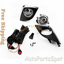 14-15 Toyota Corolla CE ECO L LE S Fog Lights Kit Switch Wiring For FL7022