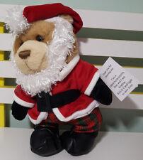 RACQ CAREFLIGHT CHRISTMAS TEDDY BEAR PLUSH TOY SOFT TOY ABOUT 31CM TALL KIDS TOY