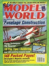 RC Model World - Radio Controlled Aircraft, August 2000 - Free Plan Pelicano