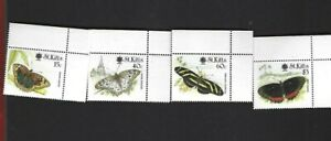 St. Kitts sc#281-4 (1990) Complete MNH