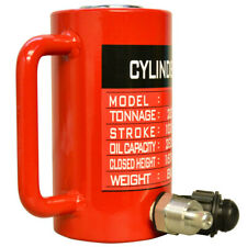 "30 Ton Hydraulic Cylinder 3.93"" (100mm) Stroke Jack Ram 168mm Closed Height"