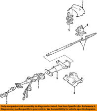 Hummer GM OEM 06-10 H3 Steering Column-Intermediate Shaft 19256702