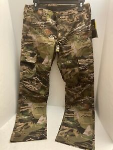 Under Armour Women's Storm Hunting Camo Pants 1254097-940 Camouflage Size 8