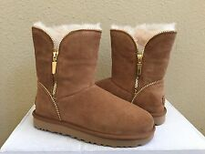 UGG CLASSIC SHORT FLORENCE CHESTNUT BOOT US 8 / EU 39 / UK 6.5 - NEW