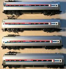(4) WILLIAMS Illuminated Passenger Amtrak Trains #809-#812