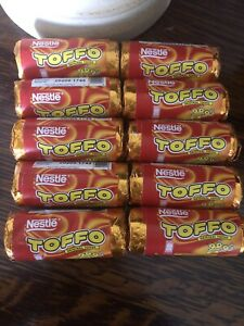 Nestle Toffo Original Toffee - Retro Sweets 10 X 4 Sweets - Christmas Sweets