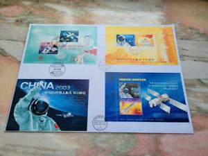 Hong Kong 2003 China's First Manned Spacecraft CHINA HK MACAU 3 S/S in 1 FDC