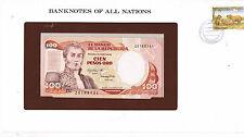 Franklins billets de toutes les nations de la colombie 100 P462a 1893 unc