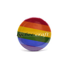 Rainbow Gay Lesbian LGBT Pride Symbol Flag Pin Badge Brooch Support Love Gift