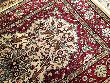 Very fine Turkish Ozipek Hereke rug %100 Silk 1'10''x3'2'' 676 Kpsi